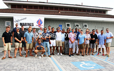 US MARINES '111' Division at BYC for Beers Can racing.