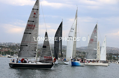 BALOBA YACHT CLUB'S  'BEER CAN' race start area.