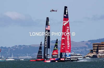 Race 5....back up wind to top gate. Sept. 10th Just passing Alcatraz