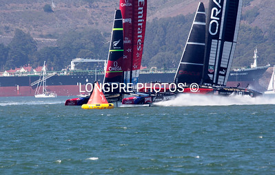 FIRST START...34th America's Cup San Francisco, CA  Sept. 7, 2013