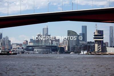 MELBOURNE under Bolltie Bridge.