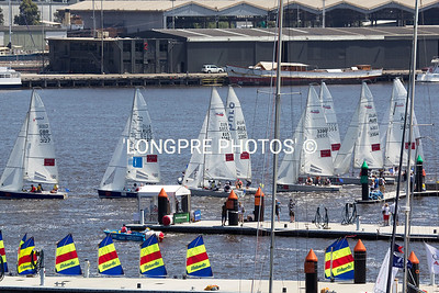 DOCKLANDS INVITATIONAL race start. Jan. 19, 2011 Melbourne, Australia