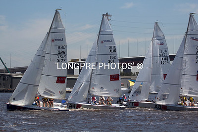 Start DOCKLANDS INVITATIONAL races. Jan. 20, 2011