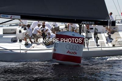 LOKI rounding AUDI buoy.