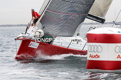 SCARLET RUNNER at weather mark. Audi-Victoria Race Week,  Melbourne, Australia