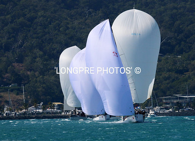 WHO says white spinnakers are boring?