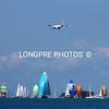 VIRGIN AUSTRALIA airliner landing over starting fleet.