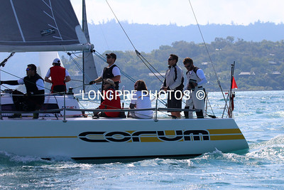 CORUM,  well raced IRC boat.