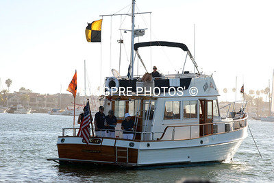 BYC Race Committee boat:  'DEFIANT'