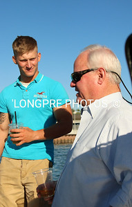 Tachtician ANDY ROSE explaining to Marine's about this race boat. 'It's Ok'