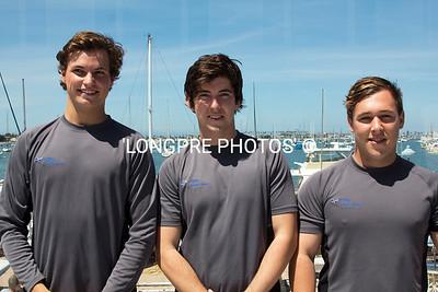 ROYAL FRESHWATER BAY YACHT CLUB:  Peppermint Grove, WA Australia Sam Gilmore,  Chris Smith, Adam Negri