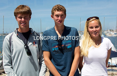 PORTLAND YACHT CLUB:  Falmouth, Main Charlie Lalumiere,  Ben Garber,  Carter Simard