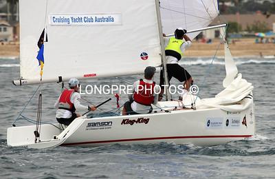 Cruising Yacht Club of Australia   gybing