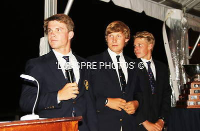 BALBOA YACHT CLUB  team Killian.  Introductions at Welcome Dinner'. July 14, 2014