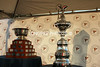 GOVERNOR'S CUP sitting along side the AMERICA'S CUP.<br /> BALBOA YACHT CLUB, July 18, 2014