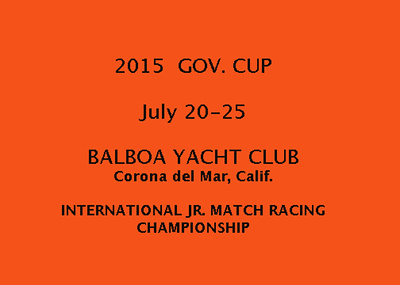 2015  GOVERNOR'S CUP