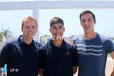 Team WEIS from DEL REY YC.  Marina del Rey, CA