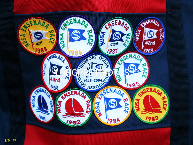 NOSA patches through the years.