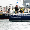 LUCKY DUCK and PIPE DREAM on start line.