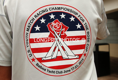 LOGO for U.S.YOUTH MATCH RACING CHAMPIONSHIP for the ROSE CUP  2015