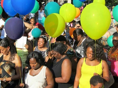 1st annual balloon release