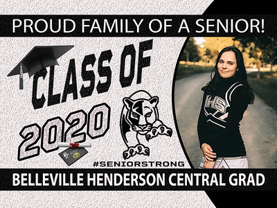 B-2 Belleville Henderson Central Sign OR DECAL
