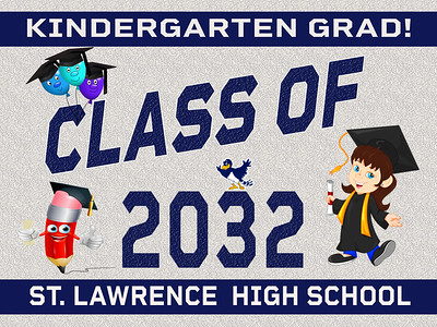 7--1 KINDERGARTEN-SLC AVAILABLE IN BANNER YARD SIGN WINDOW CLINGS