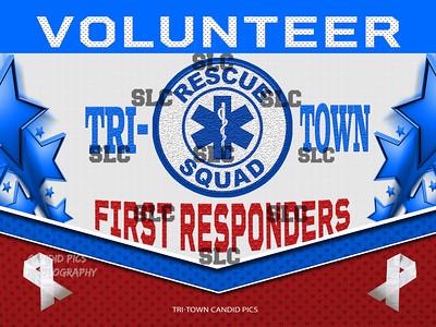 VOLUNTEER RESQUAD  TRI-TOWN FIRST RESPONDERS - Stars