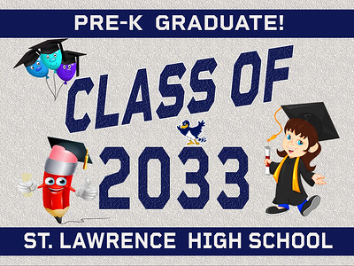 6--2 PRE K-SLC AVAILABLE IN BANNER YARD SIGN WINDOW CLINGS