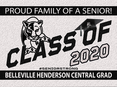 B-1 Belleville Henderson Central Sign OR DECAL