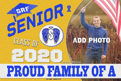 9-3 ST REG FALL SUPPORT SENIORS  AVAILABLE IN BANNERS YARD SIGN WINDOW CLING