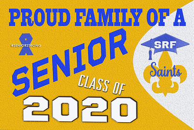 9-2 ST REG FALL SUPPORT SENIORS  AVAILABLE IN BANNERS YARD SIGN WINDOW CLING