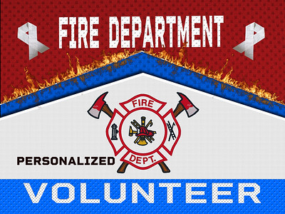 VOLUNTEER FIRE FIRST RESPONDERS - Stars
