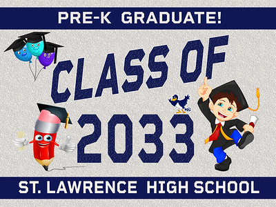 6--1 PRE-K-SLC AVAILABLE IN BANNER YARD SIGN WINDOW CLINGS