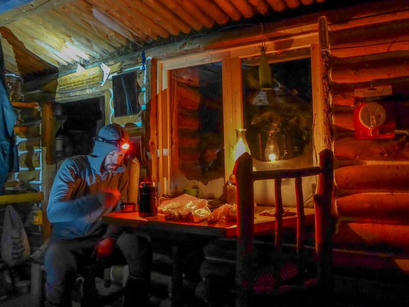 Peter Heebink's cabin on Mandana Lake