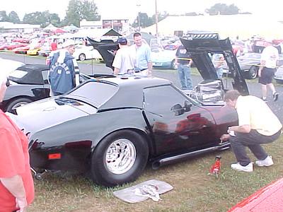 2002 Corvettes @ Carlisle