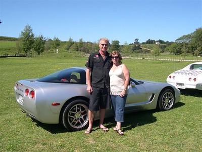 2008 Corvettes @ Carlisle