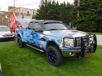 2018 - Keystone Car Show - A Military Tribute