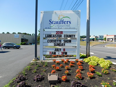 2018 - LCCC Corvette Show - Stauffers Kissel Hill