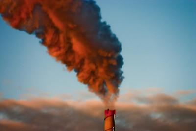 Smoke Stack in Michigan