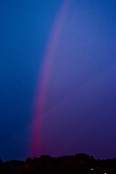 Rainbow at Nightfall
