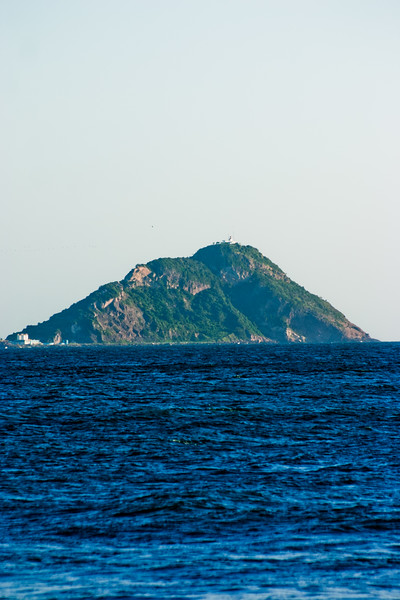 Distant Island in Mexico