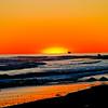 Reflective Beach in Northern California