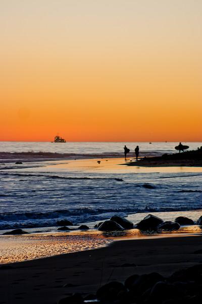 Northern California Sunset Reflection