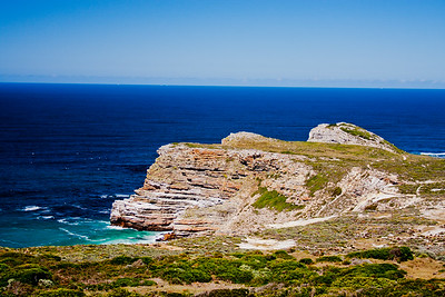 Cape Point South Africa and Ocean