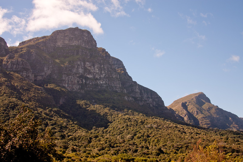 Base of Table Top Mountain