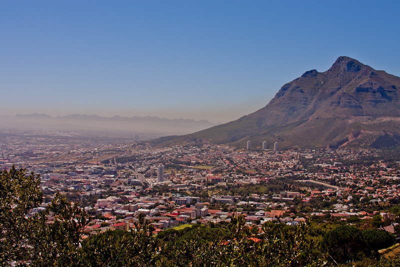 High noon in Cape Town South Africa