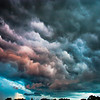 Dark and Rough Clouds in Michigan