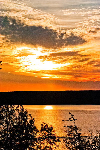 Northern Michigan Sunset on the Lake