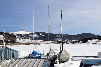 Winter Boat yard, Frisco, CO